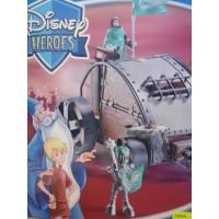Disney Heroes Maszyna Wojenna Król Artur i Merlin