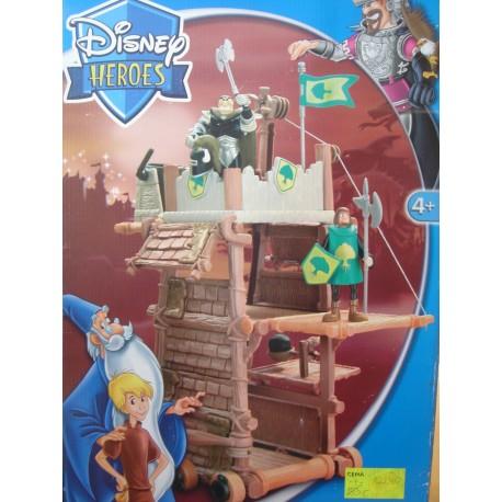 Disney Heroes Wieża Król Artur i Merlin