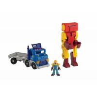 Wielka Ciężarówka i Robot Fisher Price Imaginext