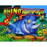 Gra Rhino Rampage Szalony Nosorożec Mattel